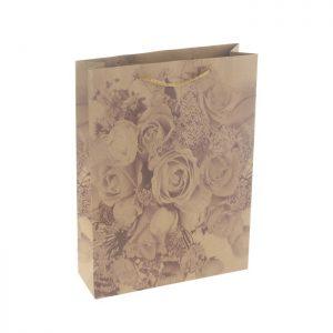 Крафт пакет Букет роз