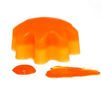Оранжевый неоновый гелевый пигмент, 10 мл