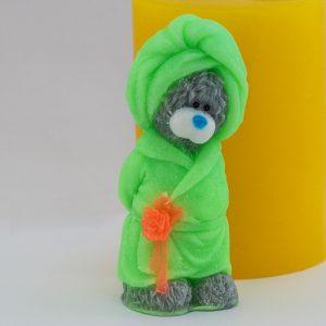 Тедди в халате 3D