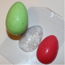 Яйцо - цветочный орнамент
