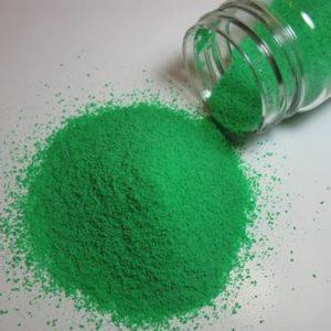 Гранулы скраба для лица и тела зеленые, 20-25 гр. фр. 0,3-0,6 мм