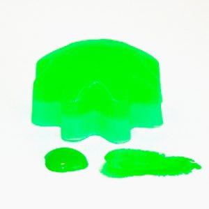 Зеленый неоновый гелевый пигмент, 10 мл
