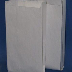 Крафт-пакет белый 9х21 см